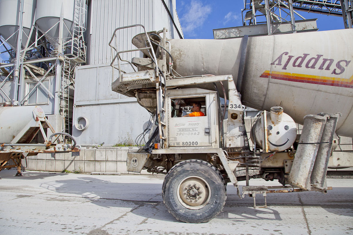 Trucks in Action Action Supply Concrete Truck