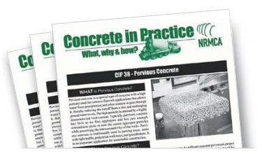 Concrete in Practice educational downloads