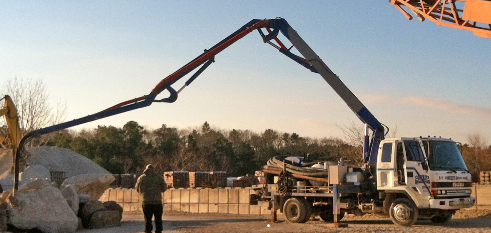 Concrete Pumping | Action Supply