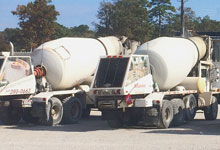 Action Supply can delivery ready mixed concrete